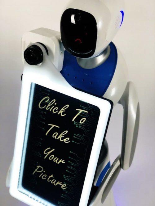 Robot fotograaf Eva
